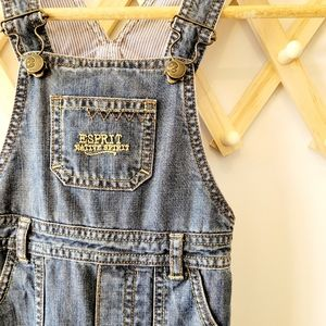 ESPRIT Toddler Denim Jumpsuit Overalls (18months)